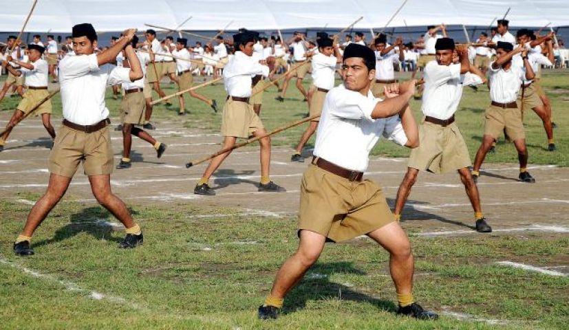 RSS शाखा स्थल पर चली गोलिया, संघ  को बनाया निशाना