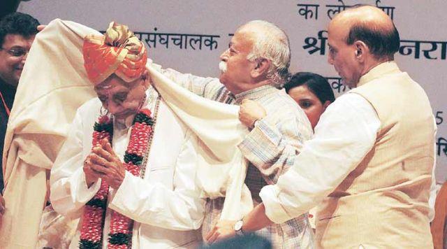 अशोक सिंघल को राजनाथ सिंह ने दी जन्मदिन की बधाई