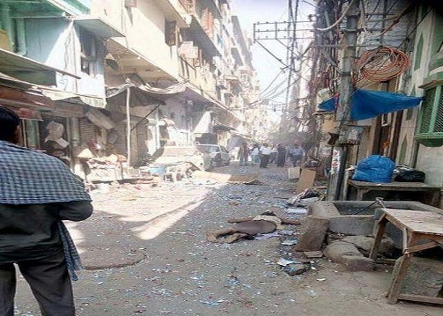 दिल्ली के नया बाजार में हुआ धमाका, एक की मौत