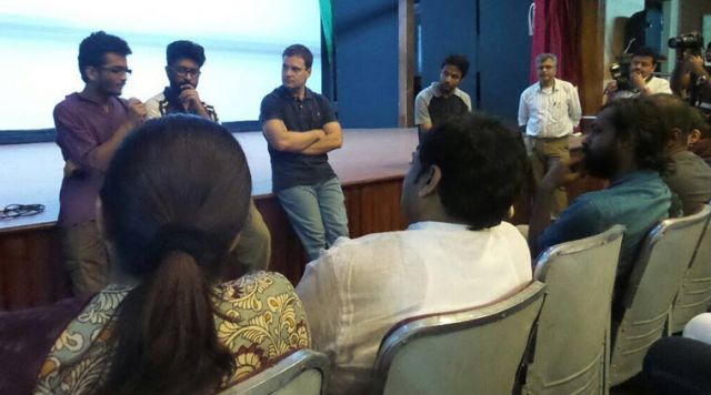 राहुल की एंट्री ने फेरा FTII विद्यार्थियों के अरमानों पर पानी