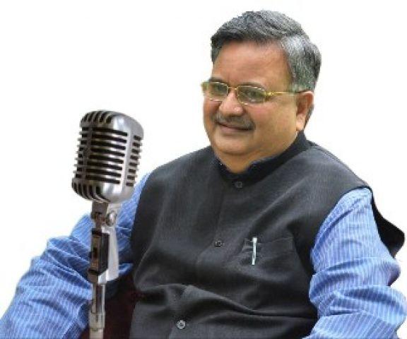 रमन चले मोदी की राह, रेडियो पर की मन की बात