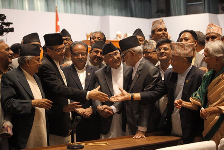 भारत ने कहा, नेपाल का नया संविधान खुशी का अवसर