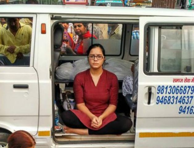लड़की ने FB पर मांगी लोगो से मदद, चिकित्सक व अधिकारियों ने मारा मेरी माँ को
