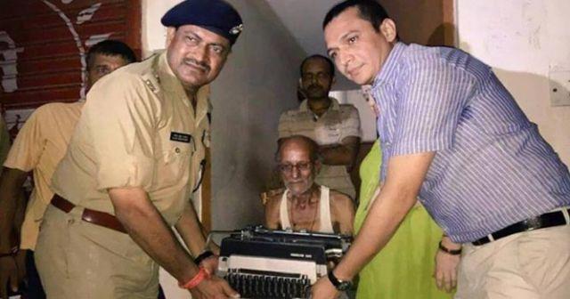 लखनऊ के बुजुर्ग टाइपिस्ट को आखिर मिल गई पुलिस सुरक्षा