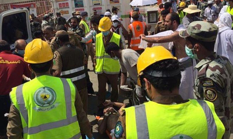 मक्का मस्जिद में बड़ा हादसा अभी तक 717 मौते, संख्या अभी बढ़ सकती है