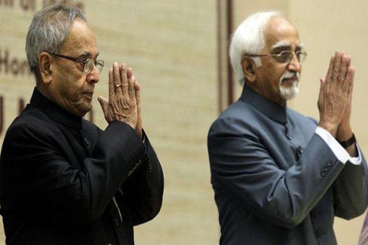 राष्ट्रपति प्रणब और उपराष्ट्रपति अंसारी ने देशवासियों से कहा ईद मुबारक