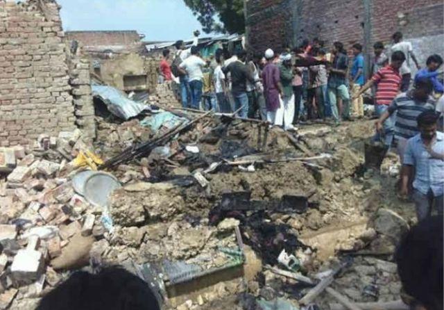 आतिशबाजी बनाने वाले के घर भयानक विस्फोट, 4 की मौत