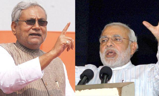नीतिश ने किए प्रधानमंत्री नरेंद्र मोदी पर तीखे वार