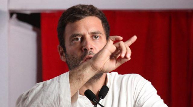 राहुल ने कहा : JNU में धौंस जमा रही है मोदी सरकार