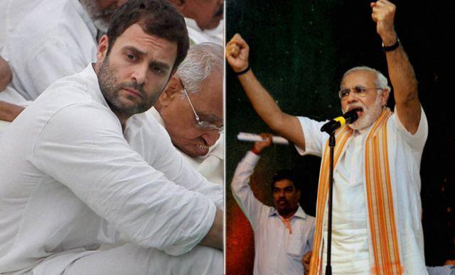 मोदी की यात्रा के कारण राहुल गांधी पीछे हटे