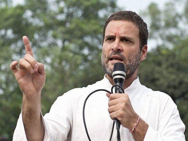 जमानत के बाद बोले राहुल: नोटबंदी के कारण छीन गई आम लोगों की रोजीरोटी