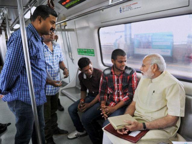 मेट्रो सर्विस के उद्घाटन पर केजरीवाल को न बुलाए जाने से 'आप' खफा