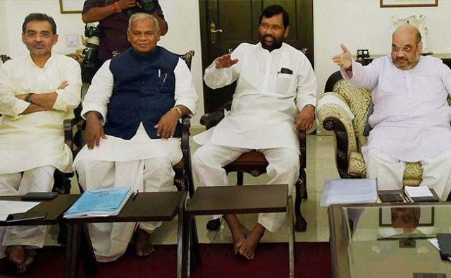 बिहार चुनाव : पासवान रूठे, देर रात तक चलती रही मनाने की कोशिश