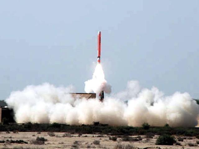 पाक ने सफलतापूर्वक किया परमाणु मिसाइल का किया परीक्षण