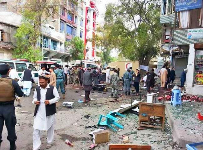 अफगानिस्तान : आत्मघाती हमले में 23 की मौत