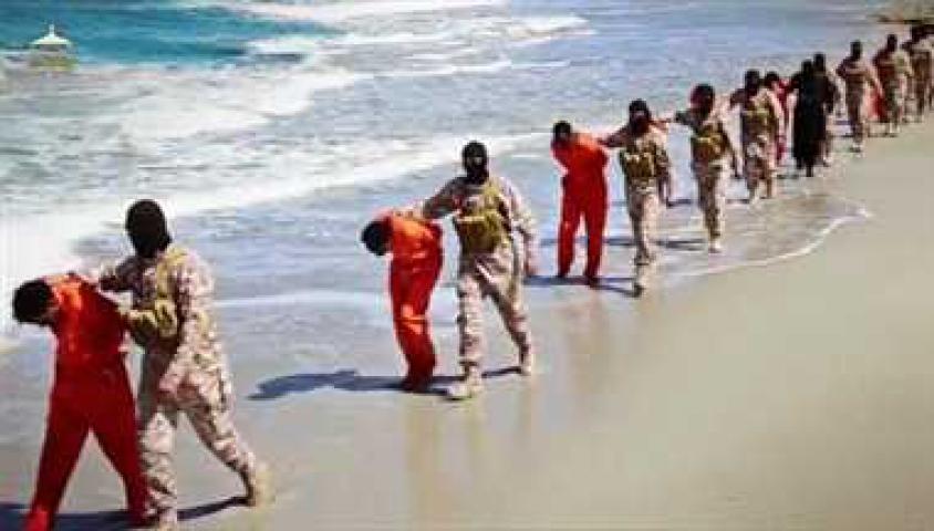 ISIS ने 30 ईसाईयों का गला काटा, जारी किया वीडियो