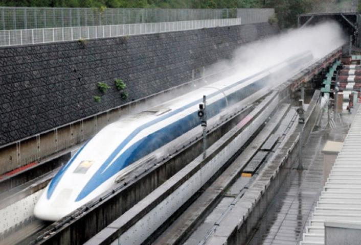 जापान में 603 किमी प्रति घंटे की रफ्तार से दौड़ी रेलगाड़ी