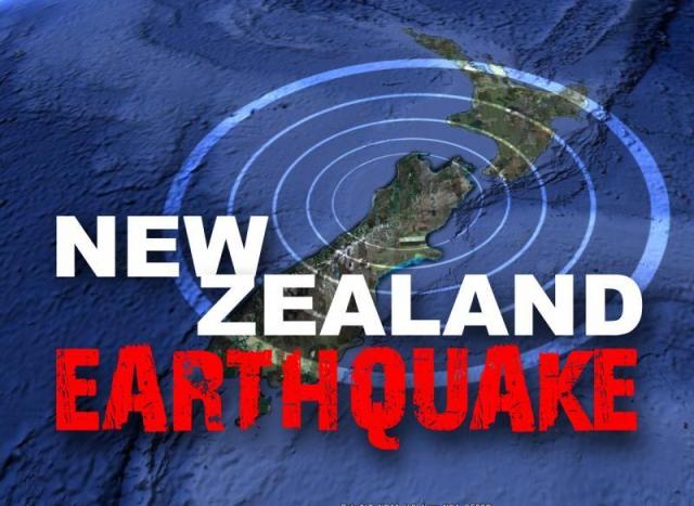 न्यूज़ीलैंड में आया भूकम्प