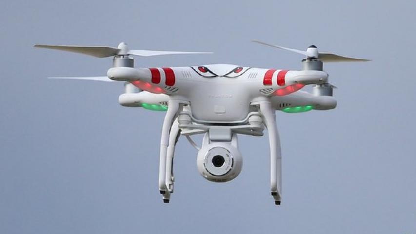 PMO के ऊपर ड्रोन उड़ाने वाला व्यक्ति गिरफ्तार