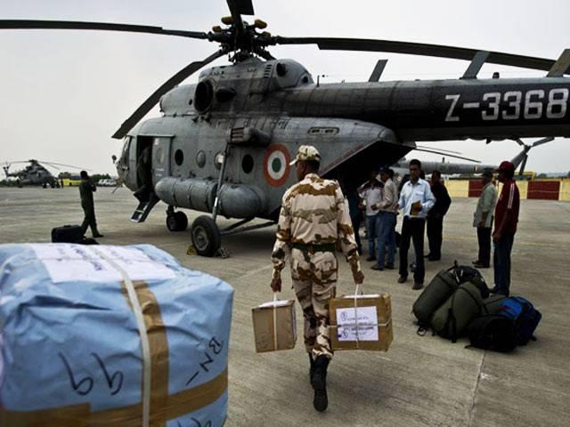 नेपाल में वायुसेना के 13 विमान, 5 हेलीकाप्टर तैनात
