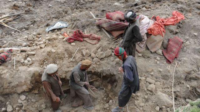 भूस्खलन से अफगानिस्तान में हुई 52 की मौत