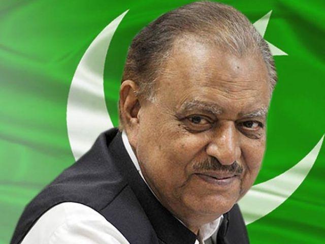 पाकिस्तान द्वारा बातचीत की पेशकश के बाद भी भारत मुकर गयाः पाक प्रेसीडेंट