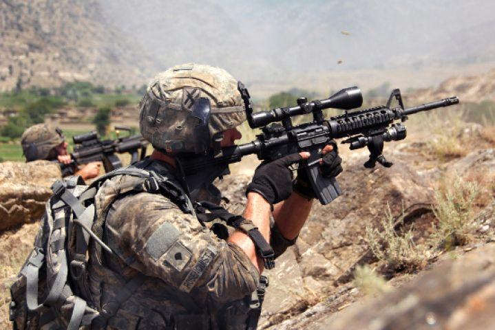 अमेरिका चला रहा अफगानिस्तान में अभियान, एक जवान शहीद