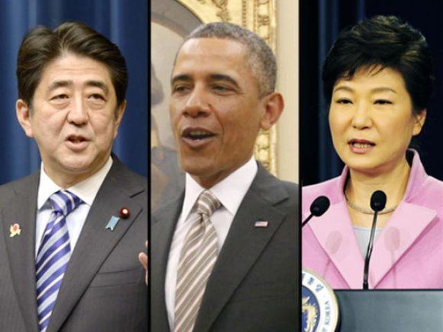 अमेरिका, जापान और दक्षिणी कोरिया ने दिखाई हाइड्रोजन बम के परीक्षण के खिलाफ एकजुटता