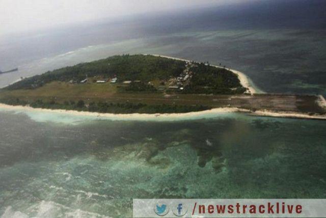 दक्षिणी चीन सागर के विवादित द्वीप पर फिर माहौल गर्माया