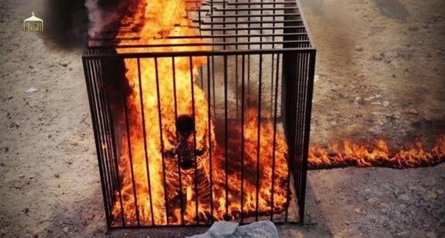 हार के बाद ISIS ने अपने लड़ाकों को जिंदा जलाया
