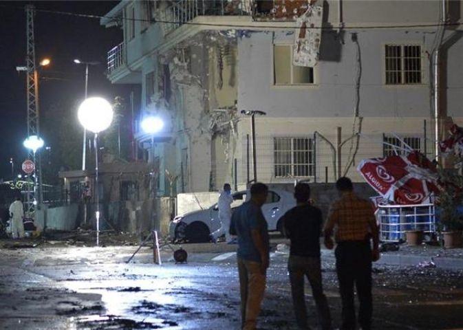 तुर्की में पुलिस मुख्यालय के बाहर हुआ कार में धमाका