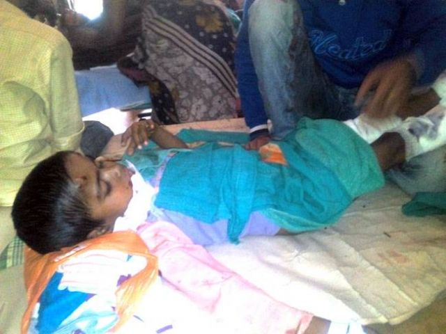 प्रधानमंत्री मोदी के दौरे से पहले बम धमाका, एक बच्ची की मौत