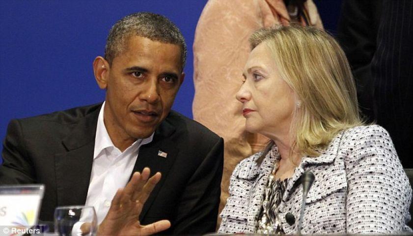 ओबामा ने किया पूर्व विदेश मंत्री हिलेरी का समर्थन