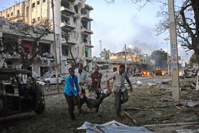 सोमालिया में हुआ आतंकी हमला, 40 घायल