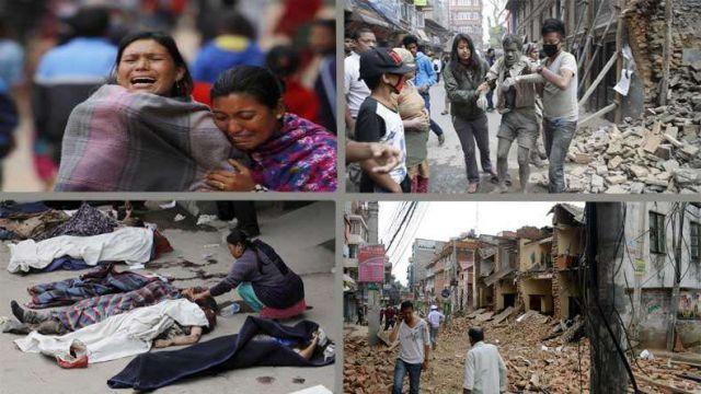 नेपाल में भूकंप से अब तक 6841 मौतें