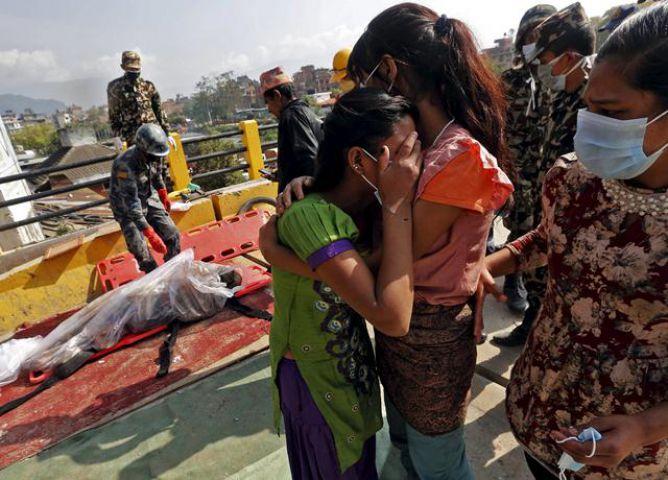 भूकम्प में मरने वालो की संख्या हुई 7,250