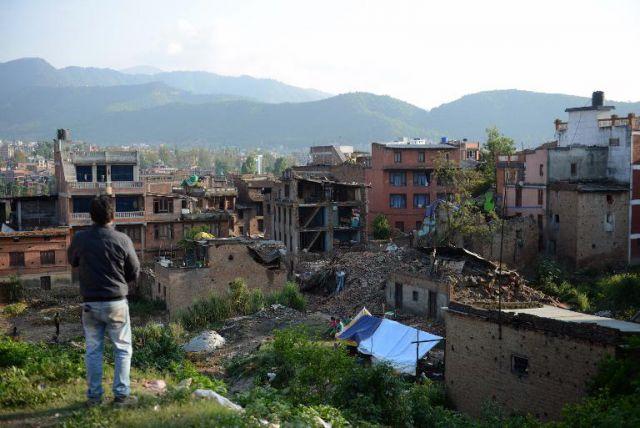 नेपाल में आए विनाशकारी भूकंप के बाद बढ़ी काठमांडू की उंचाई