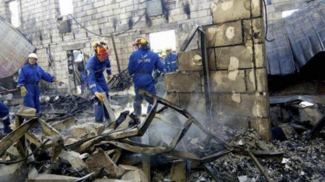वृद्धाश्रम में आग, 17 लोगो की मौत