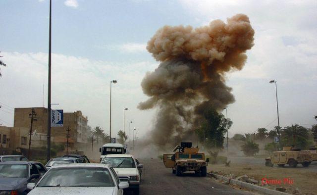 बगदाद में एक आत्मघाती हमले में 8 लोगों की मौत