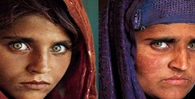 अफगान गर्ल शरबत का होगा अब भारत में मुफ्त इलाज