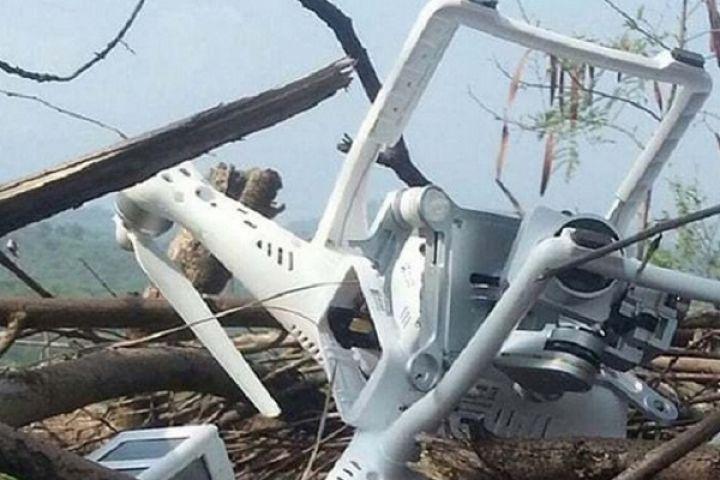 भारतीय ड्रोन पाकिस्तान के कब्जे में
