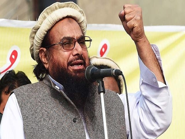 हाफिज सईद ने कहा भारत है पाकिस्तान के परमाणु हथियारों के टारगेट पर