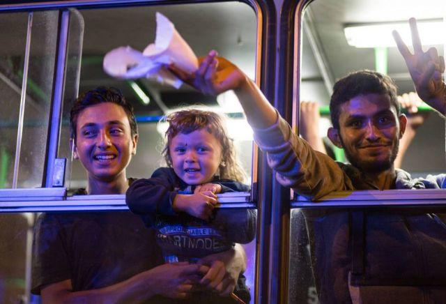 ऑस्ट्रिया और जर्मनी ने भी किया सीरियाई शरणार्थियों का दिल खोलकर स्वागत