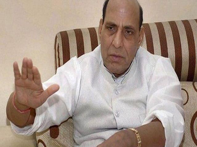 राजनाथ ने विपक्ष के आरोपों पर दिया जवाब, कहा संघ सरकार नहीं चला रहा है