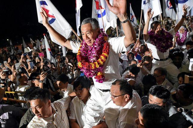सिंगापुर आम चुनाव में पीपुल्स एक्शन पार्टी की विशाल जीत