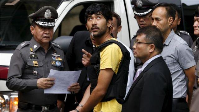 थाईलैंड ब्लास्ट मामले में पाकिस्तानी और मलेशियाई नागरिक हिरासत में