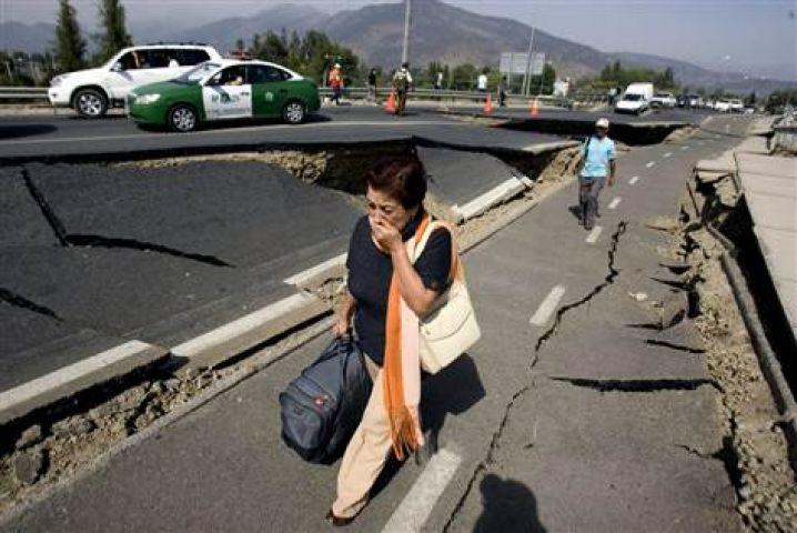 चिली में साल का सबसे शक्तिशाली भूकंप, 10 की मौत