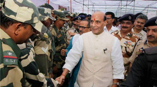 केंद्रीय गृह मंत्री राजनाथ ने किया लद्दाख का दौरा