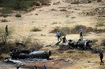 पाकिस्तान का लड़ाकू विमान क्रैश