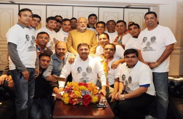 सरदार पटेल ग्रुप के प्रवक्ता अल्पेश पटेल ने की PM मोदी से मुलाकात